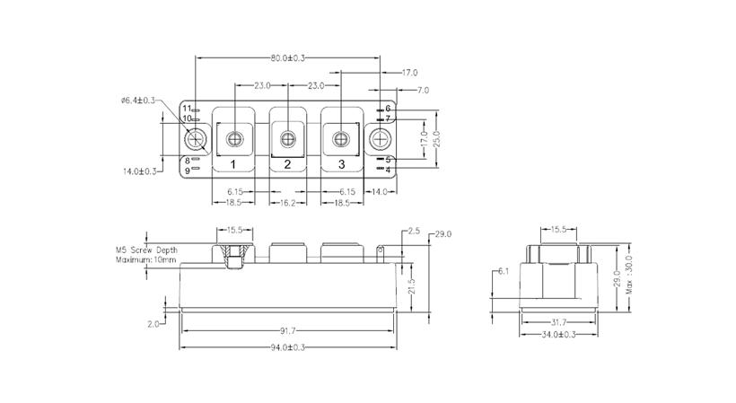 S1-34mm-IGBT Drawing