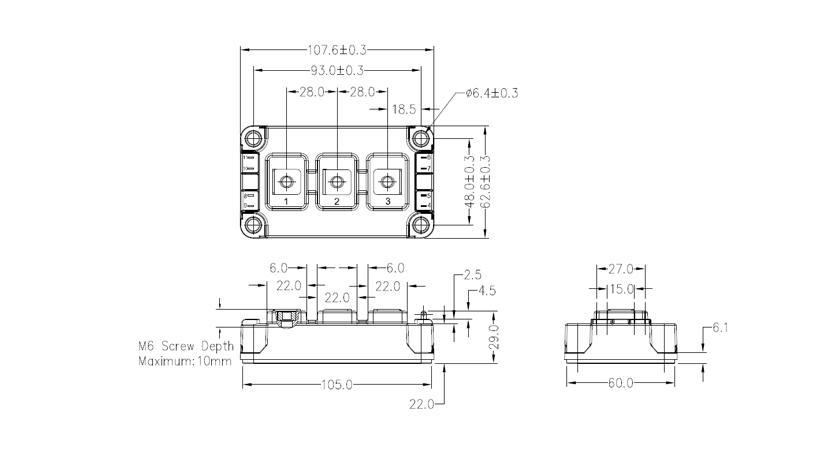 S3-62mm-IGBT Drawing